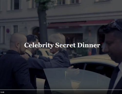 Ein kleiner Einblick in das Celebrity-Secret-Dinner